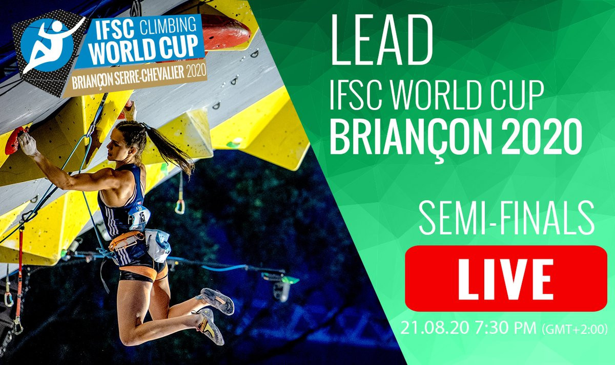 Record television coverage for IFSC World Cup in Briançon