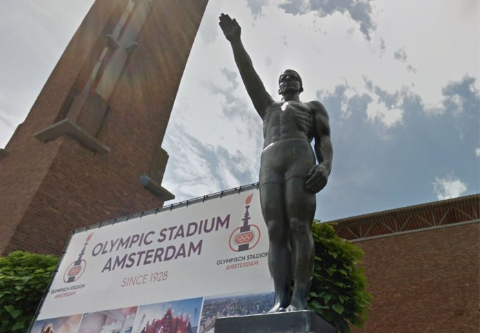 Fascist statue recommended to be removed from outside Olympic Stadium in Amsterdam