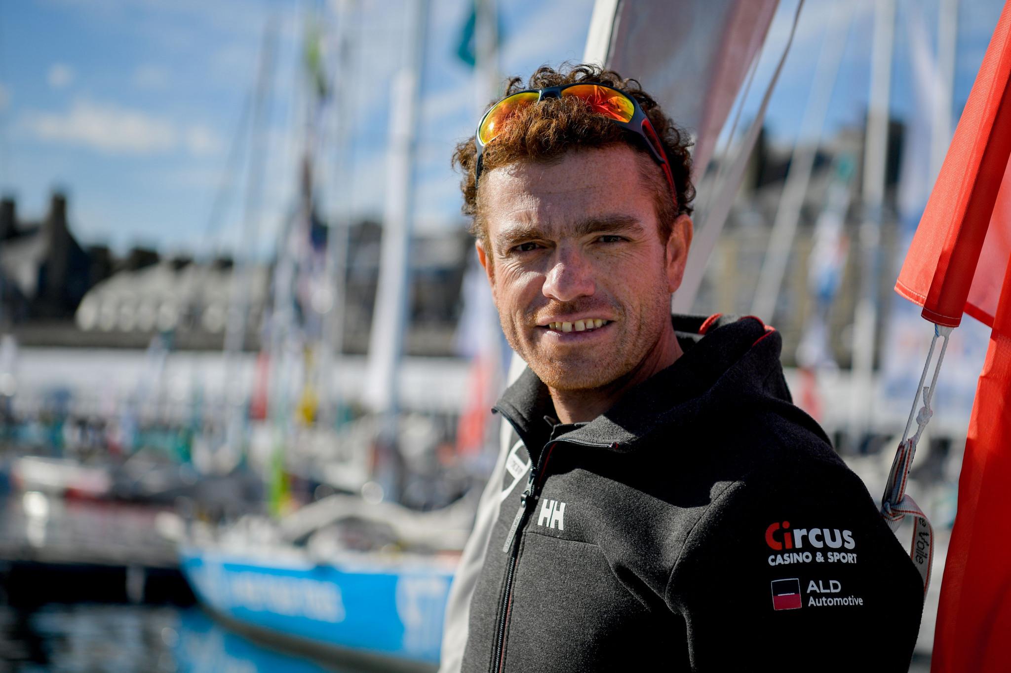 Belgian skipper Gerckens discusses sailing plans for Paris 2024