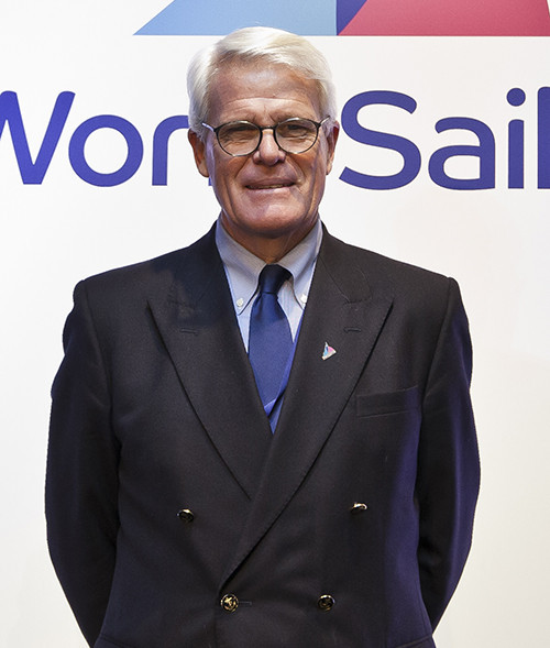 World Sailing President Kim Andersen  received a warning from the Ethics Commission after the supposed unauthorised use of signatures, including that of vice-president Scott Perry, pictured ©World Sailing