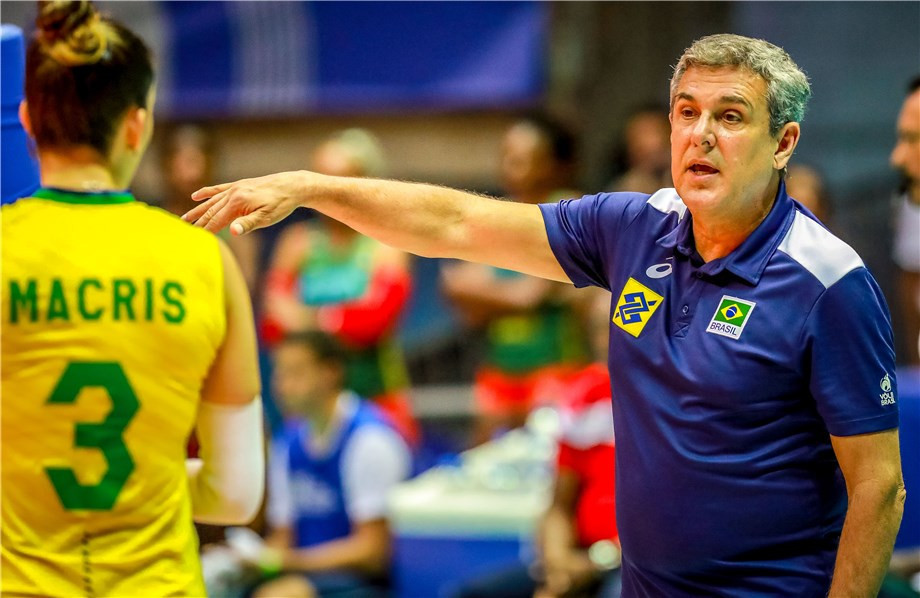 Brazil's women's volleyball head coach says three players certainties for Tokyo 2020