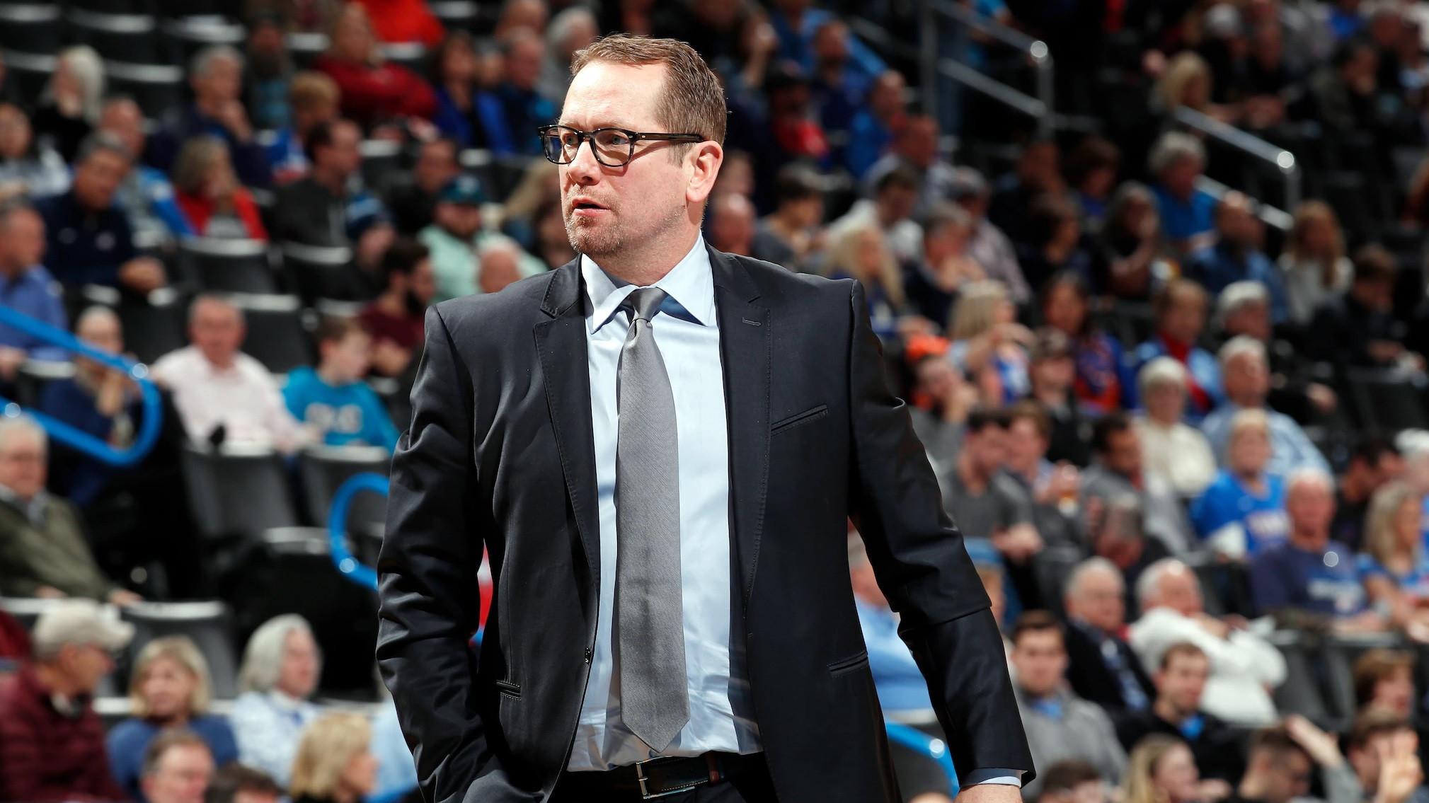 Toronto Raptors Nick Nurse named NBA Coach of the Year
