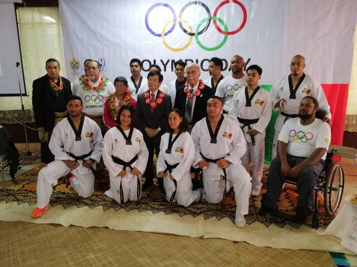 Taekwondo display leads Olympic Day celebrations in Tonga