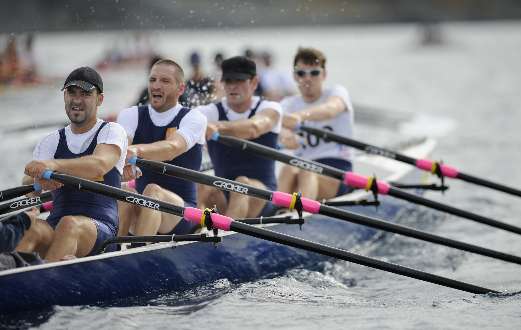 There are attempts underway to have coastal rowing added to the Paris 2024 Olympics ©Getty Images