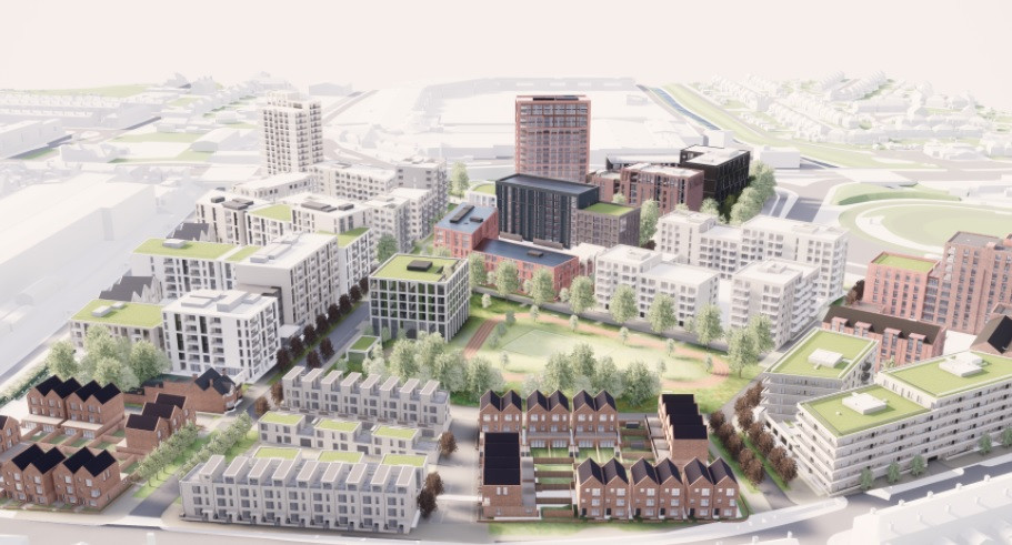 The Athletes' Village for the Birmingham 2022 Commonwealth Games had been scrapped ©Birmingham 2022