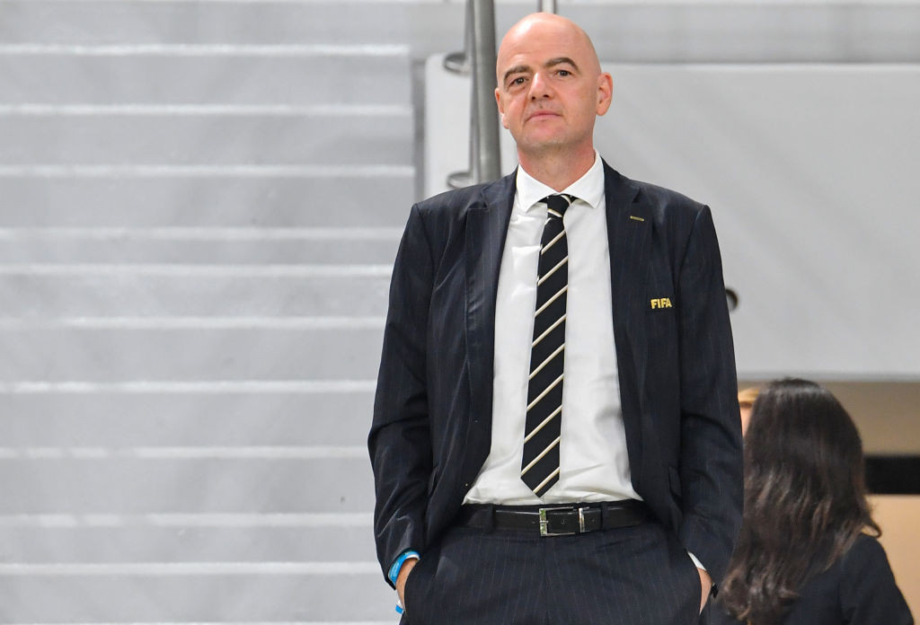 FIFA President Infantino's gross salary climbed to $3.2 million in 2019