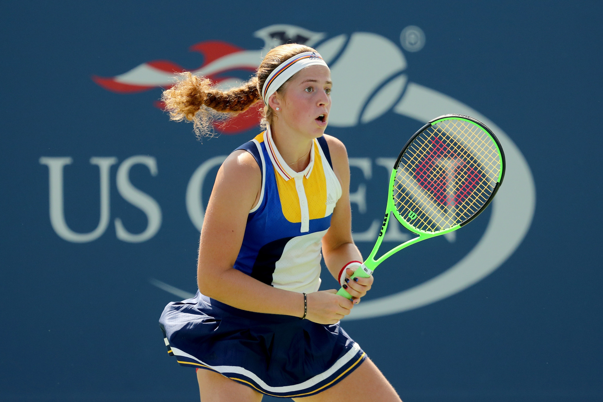 Latvia's Jelena Ostapenko has withdrawn from the US Open because of concerns surrounding coronavirus ©Getty Images