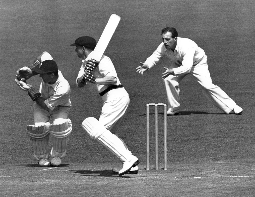 Don Bradman's Test average was 99.94 - almost 10 times that of the Derbyshire batsmen during the 1920 campaign ©Getty Images