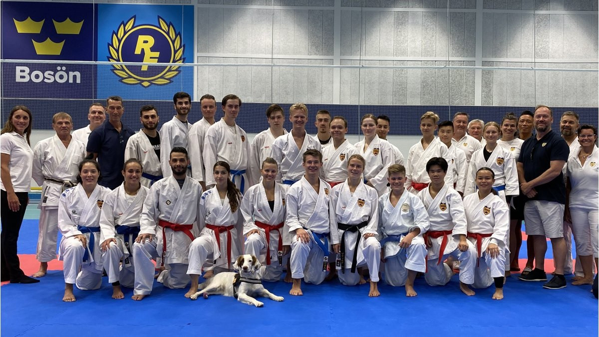 Karate's National Federations urged to follow Sweden's lead after holding training camp