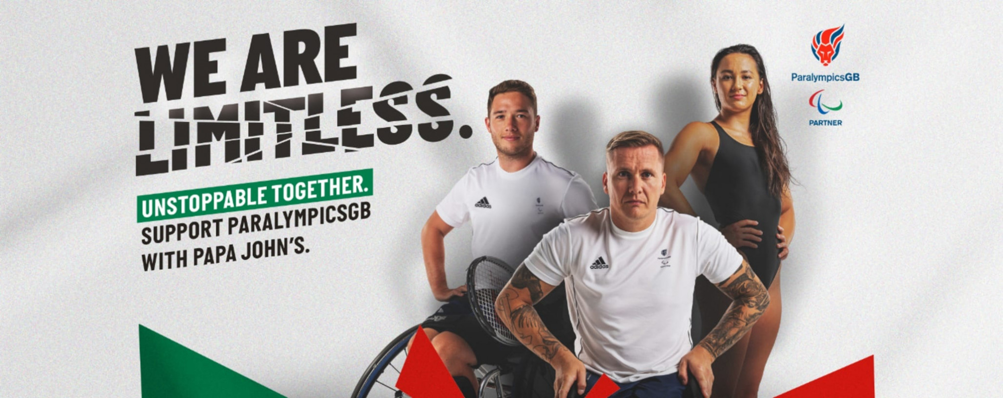 Papa John's bidding to raise £250,000 for ParalympicsGB after joining as official partner