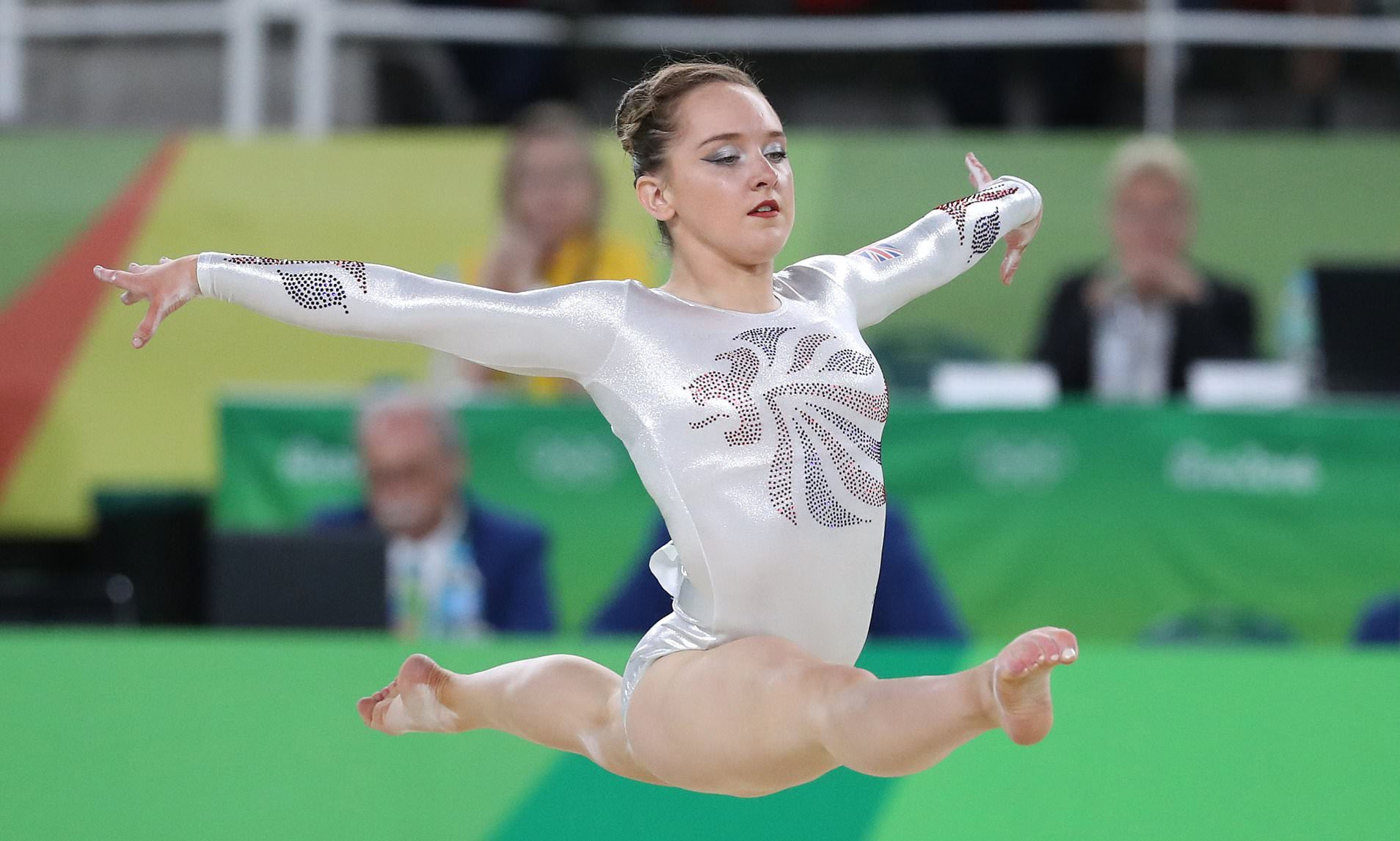 Amy Tinkler has taken another swipe at British Gymnastics over its handling of her abuse case ©Getty Images