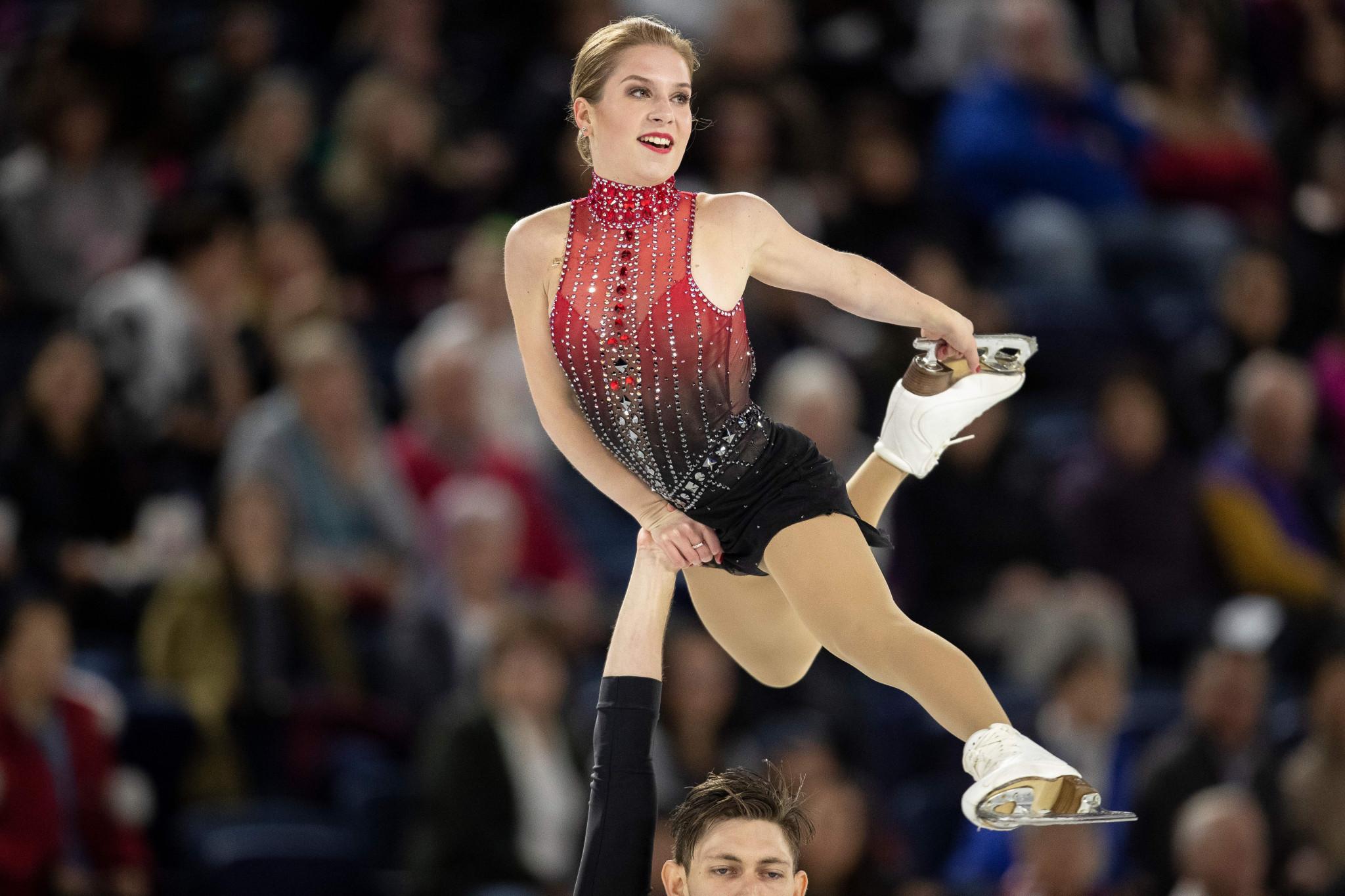 Australian figure skater Ekaterina Alexandrovskaya died aged 20 in June ©Getty Images