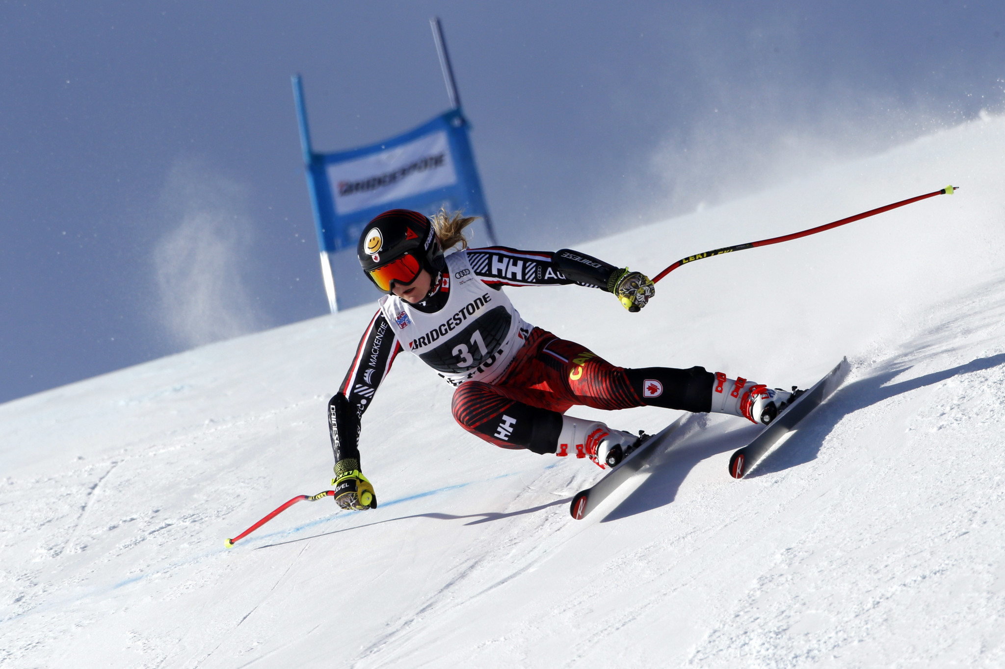 Valérie Grenier missed the last World Cup season due to injury ©Getty Images