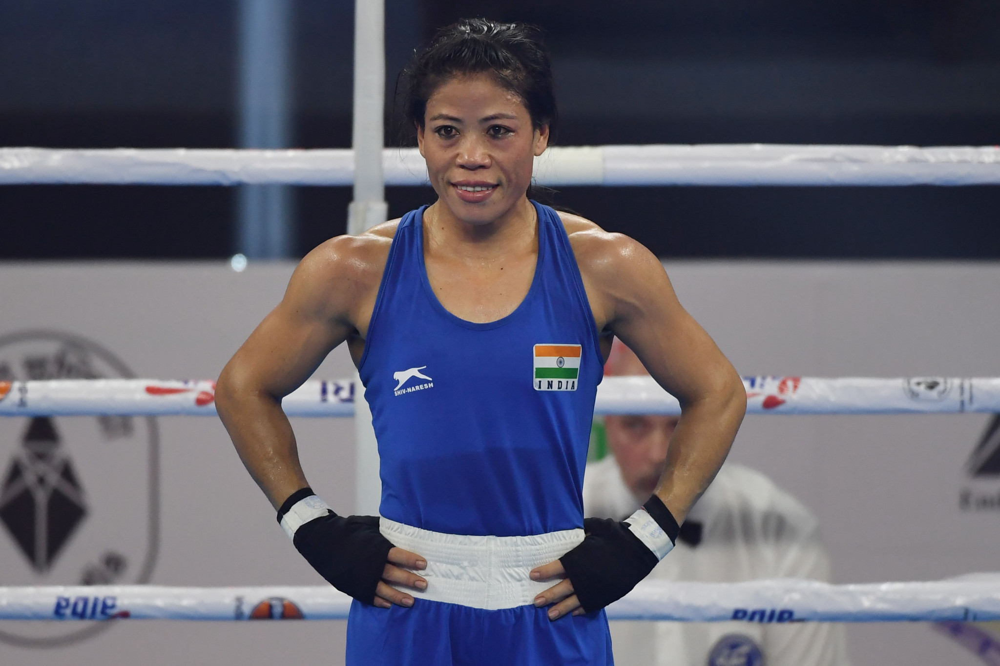 Nikhat Zareen lost out on a place at the 2020 Olympic Games to legendary boxer Mary Kom ©Getty Images