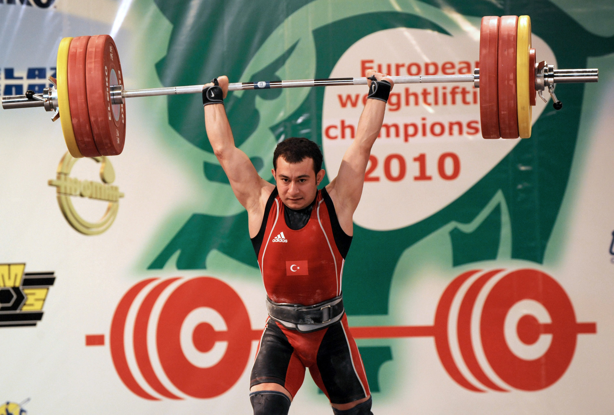 Erol Bilgin claimed European weightlifting titles in 2009 and 2010 ©Getty Images