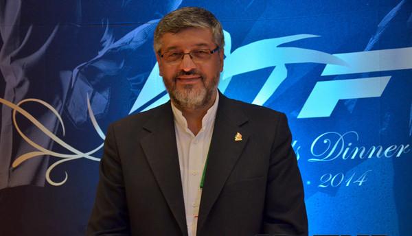 Iran Taekwondo Federation President Seyyed Mohammad Pooladgra was in attendance when the new mobile app was launched ©Iran Taekwondo Federation