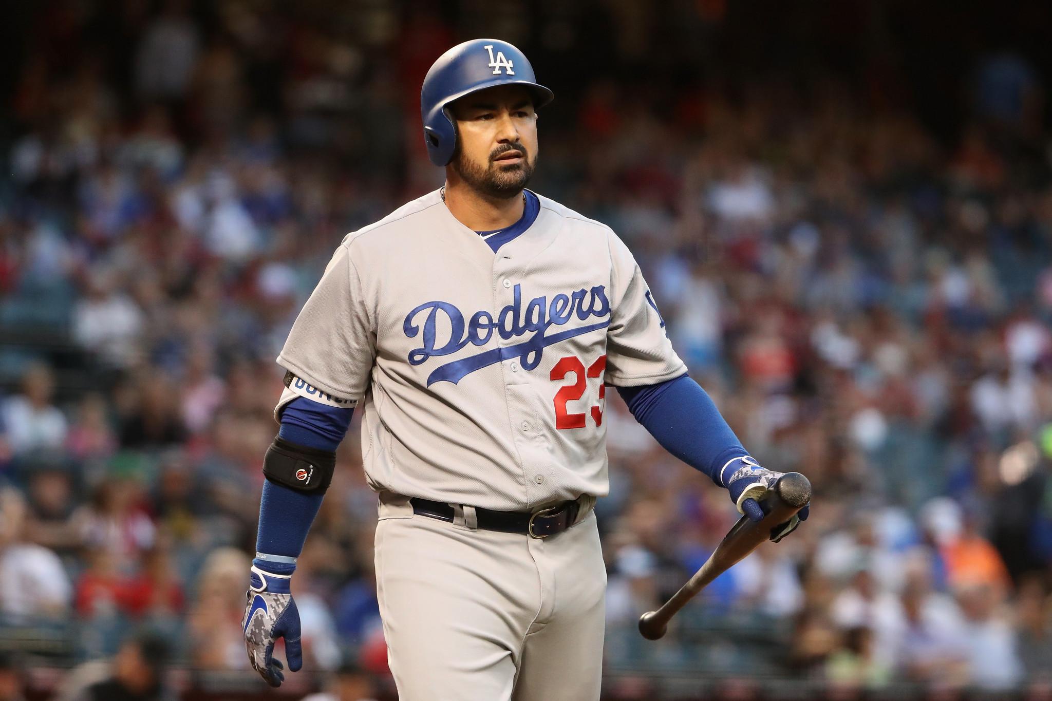 Adrian Gonzalez wants to play