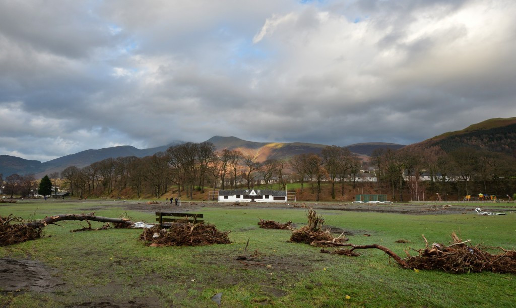 Sport England have established a fund to help flood hit areas restore sports facilities ©Getty Images