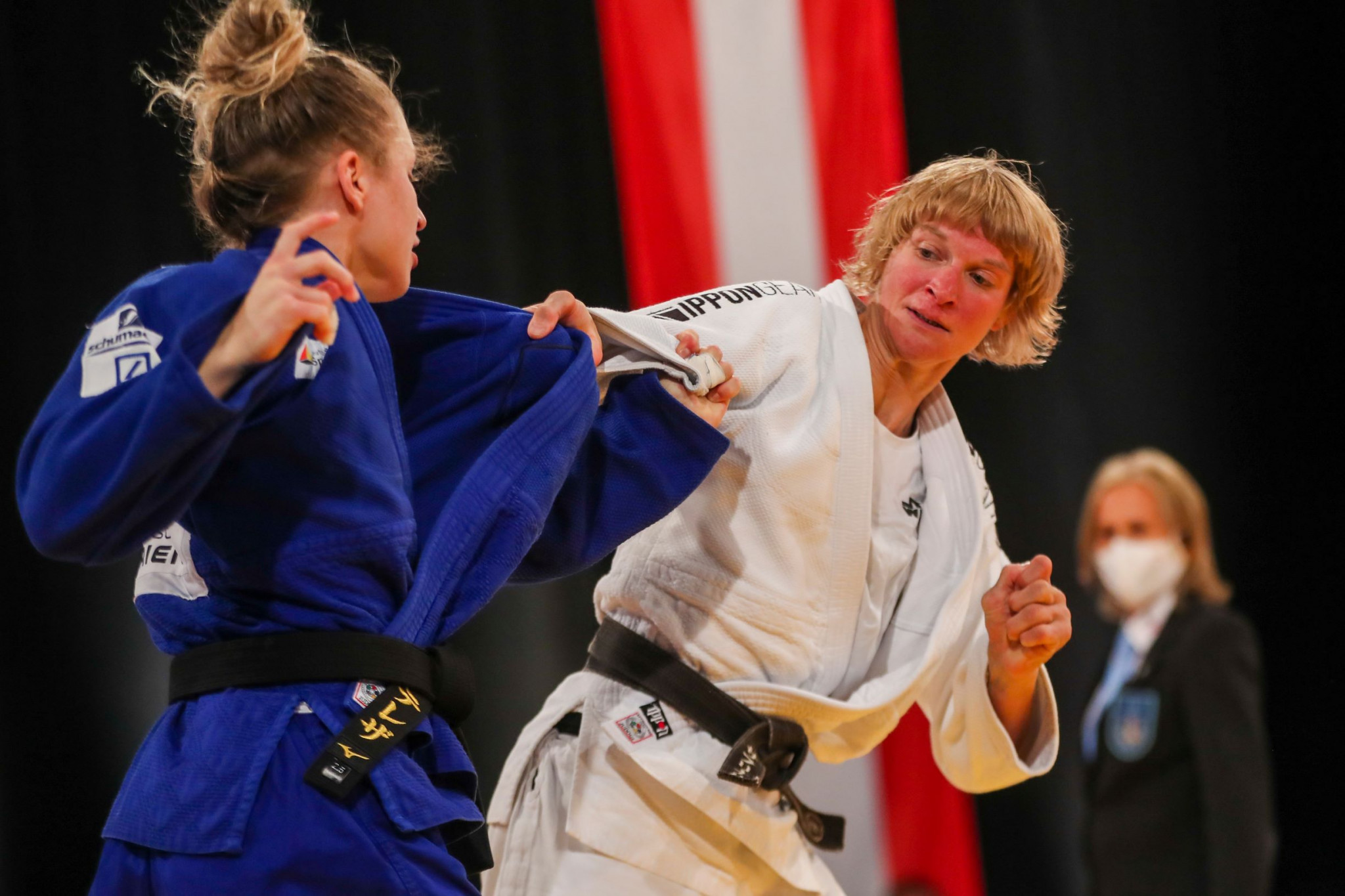 Germany narrowly defeat Austria in team judo competition