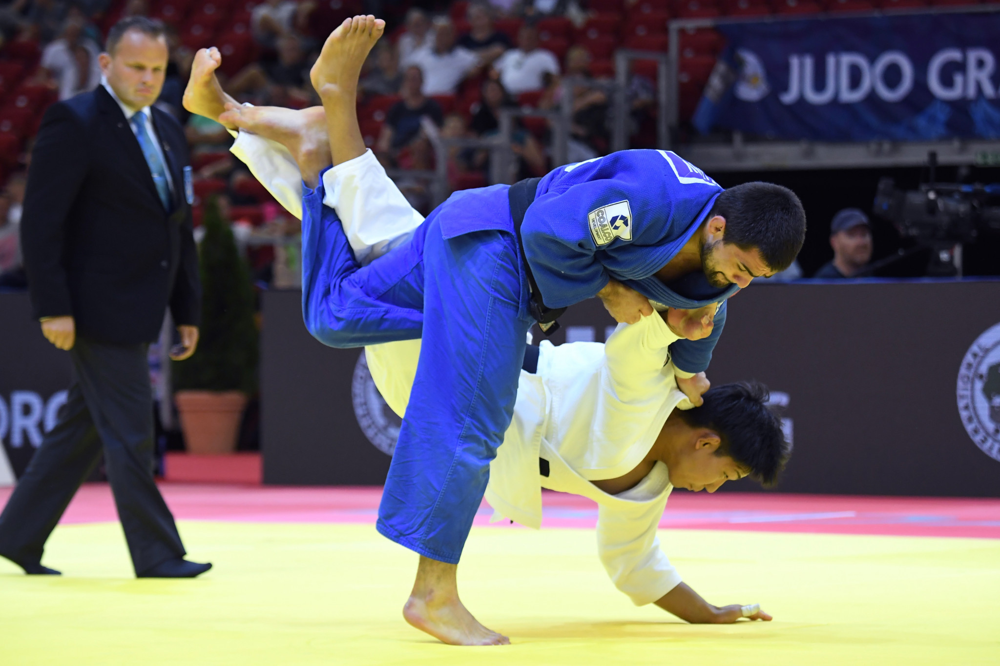 The World Judo Tour is set to return in October, starting with the Budapest Grand Slam ©Getty Images