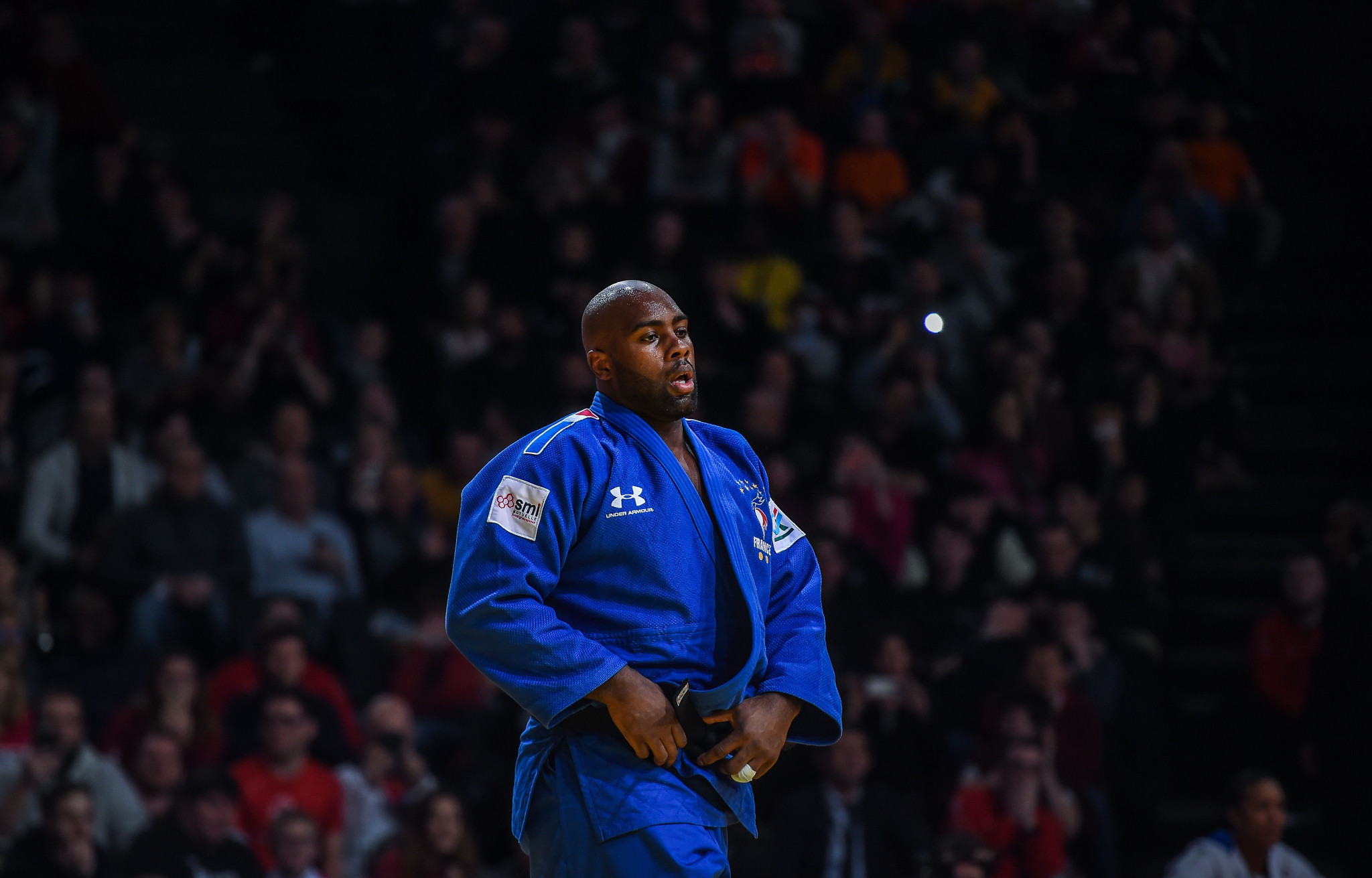 The Paris Grand Slam, where Teddy Riner suffered a surprise defeat, was one of the last IJF events held before the pandemic brought competition to a halt ©Getty Images