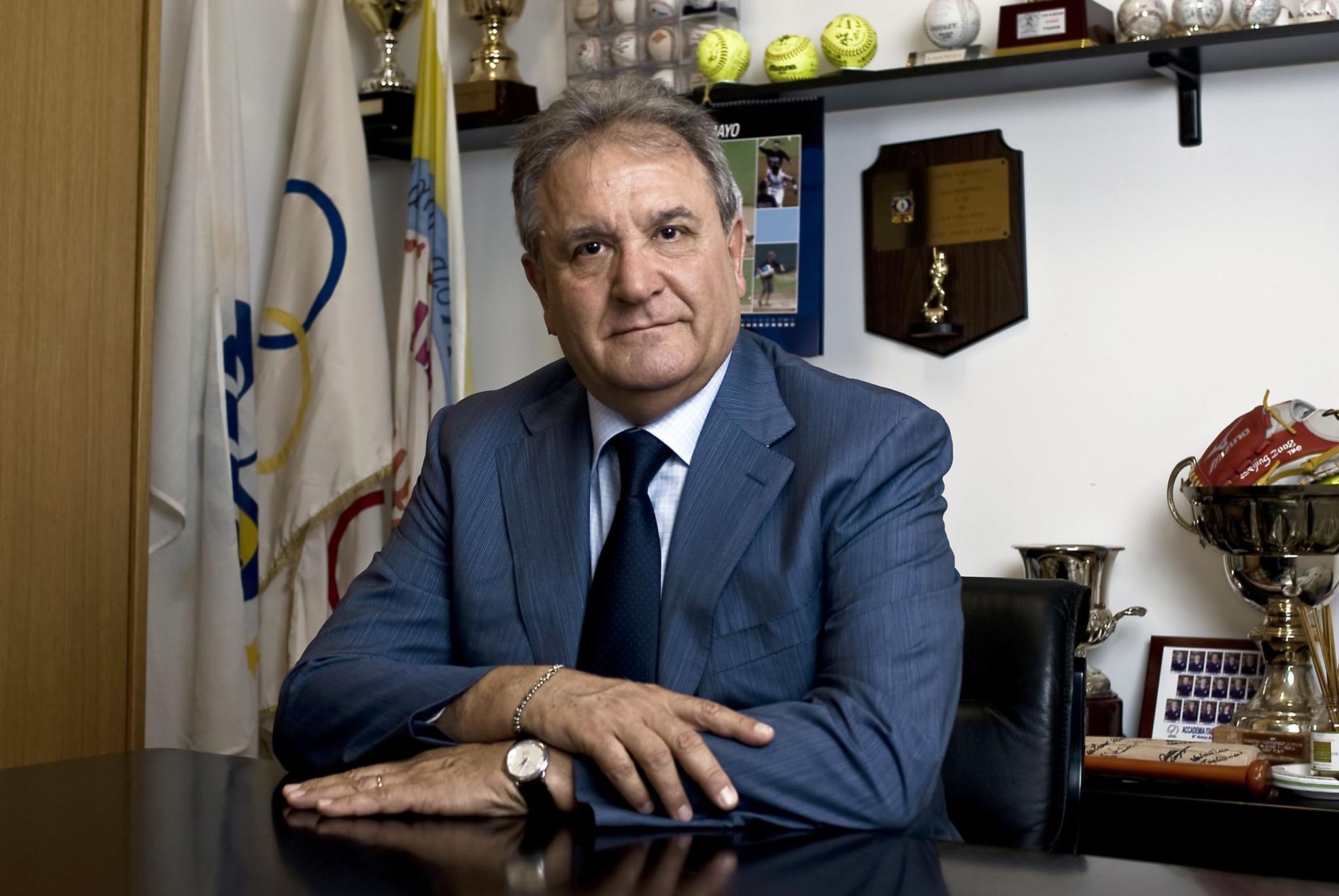 WBSC President Fraccari praises role of baseball in return of spectator sport in Japan