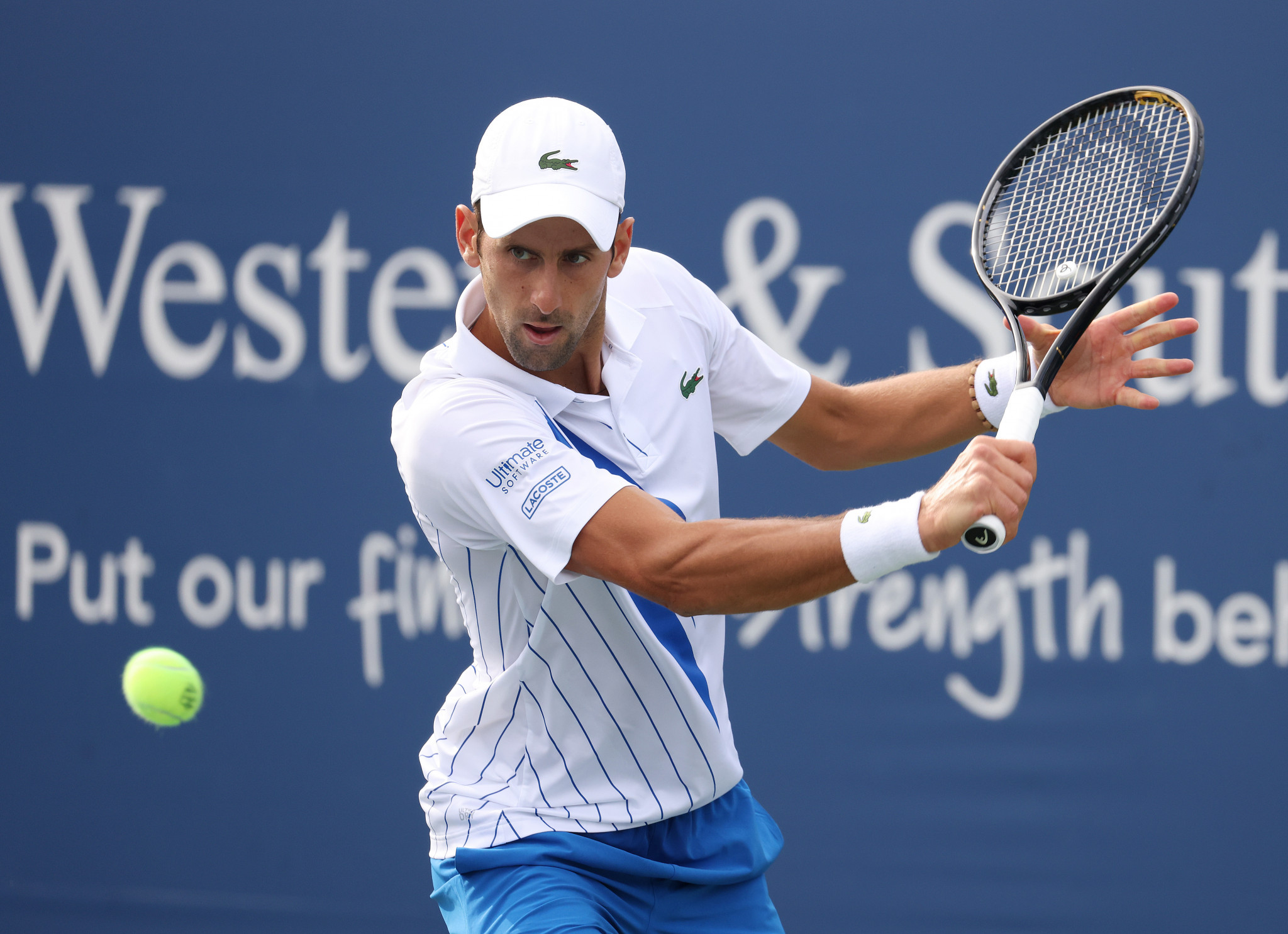 Novak Djokovic will target a fourth US Open title ©Getty Images