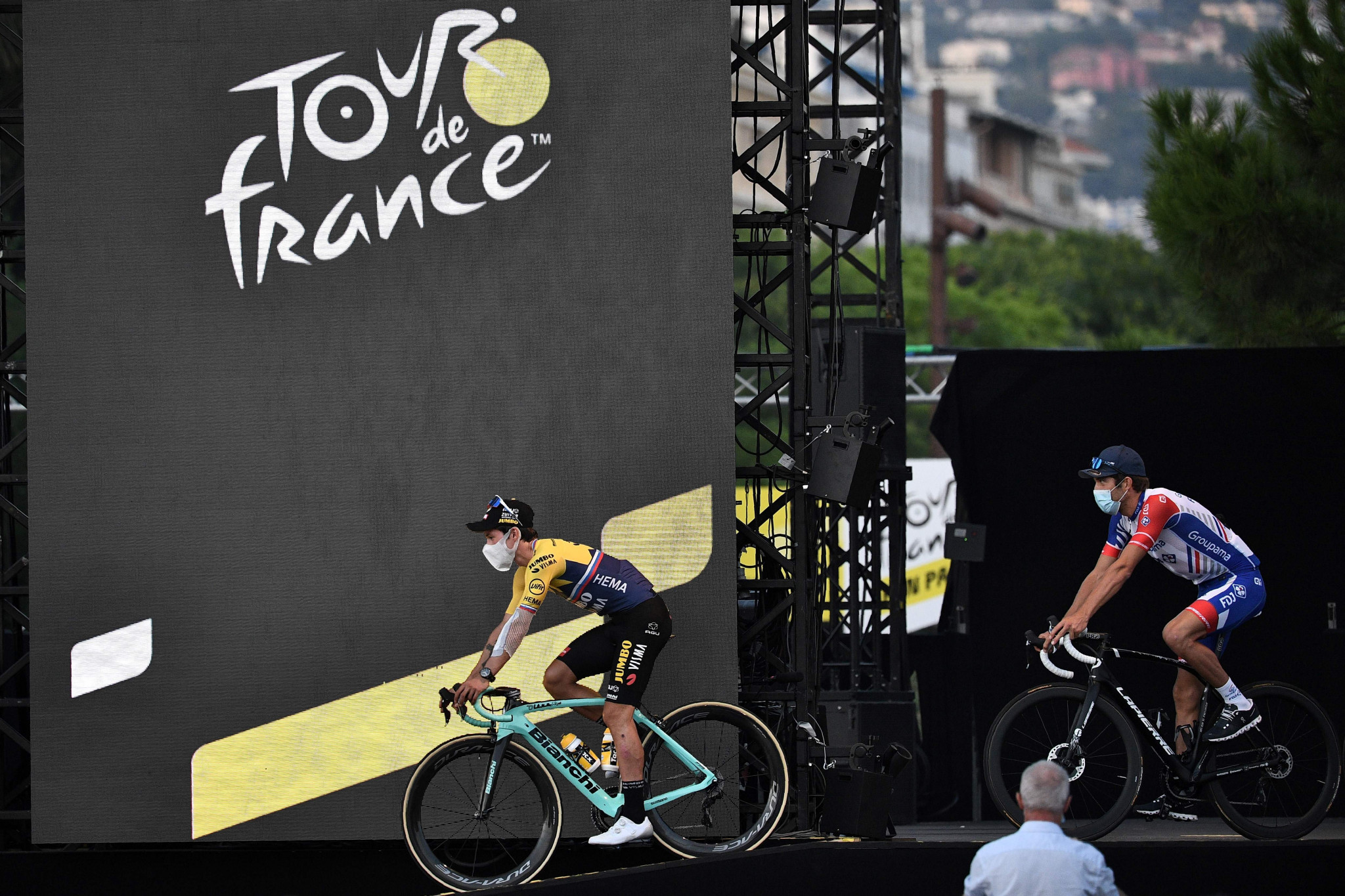 Primoz Roglic is among the main contenders to win this year's race ©Getty Images