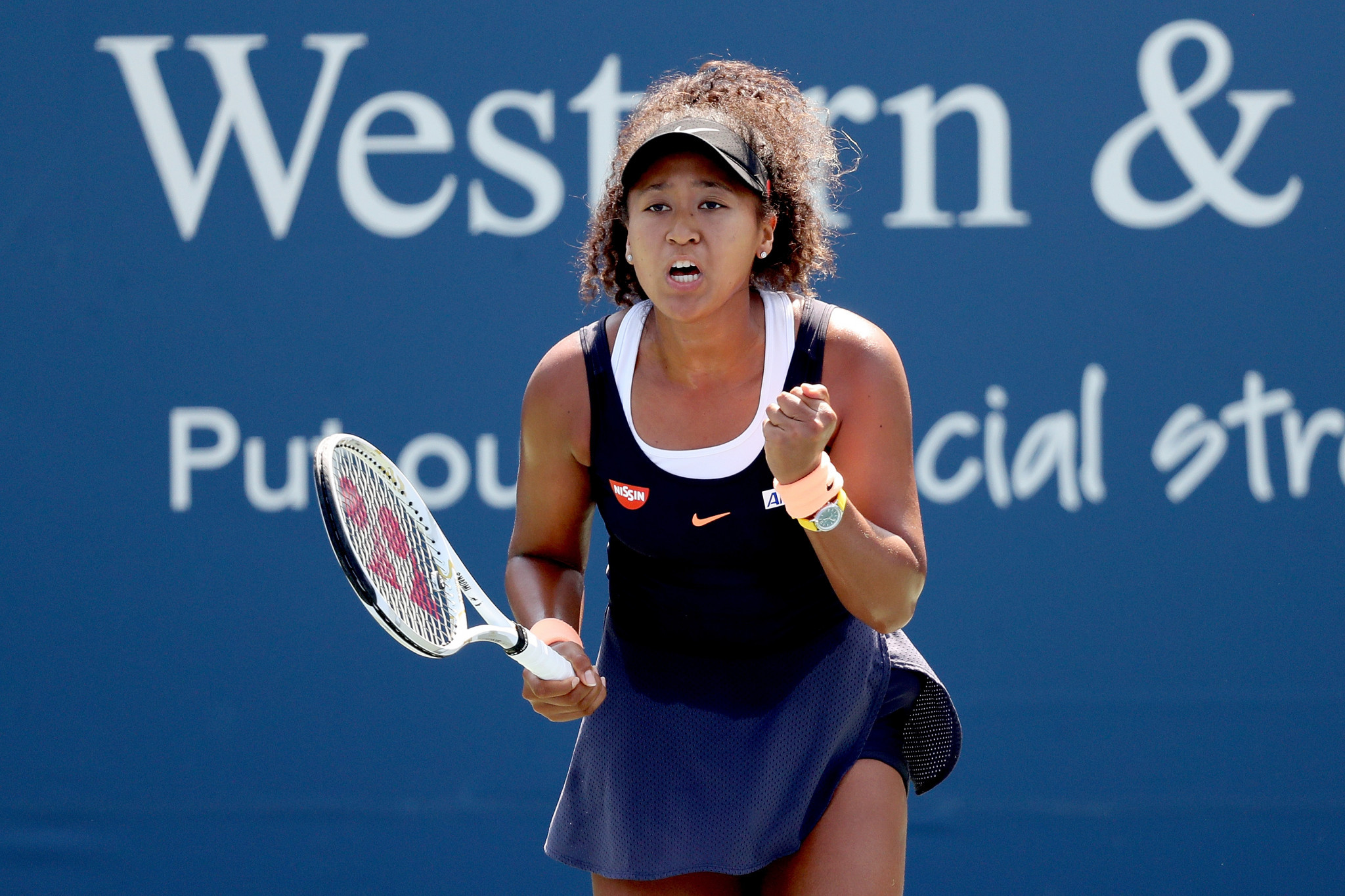 Osaka reaches Cincinnati final after reversing decision to withdraw