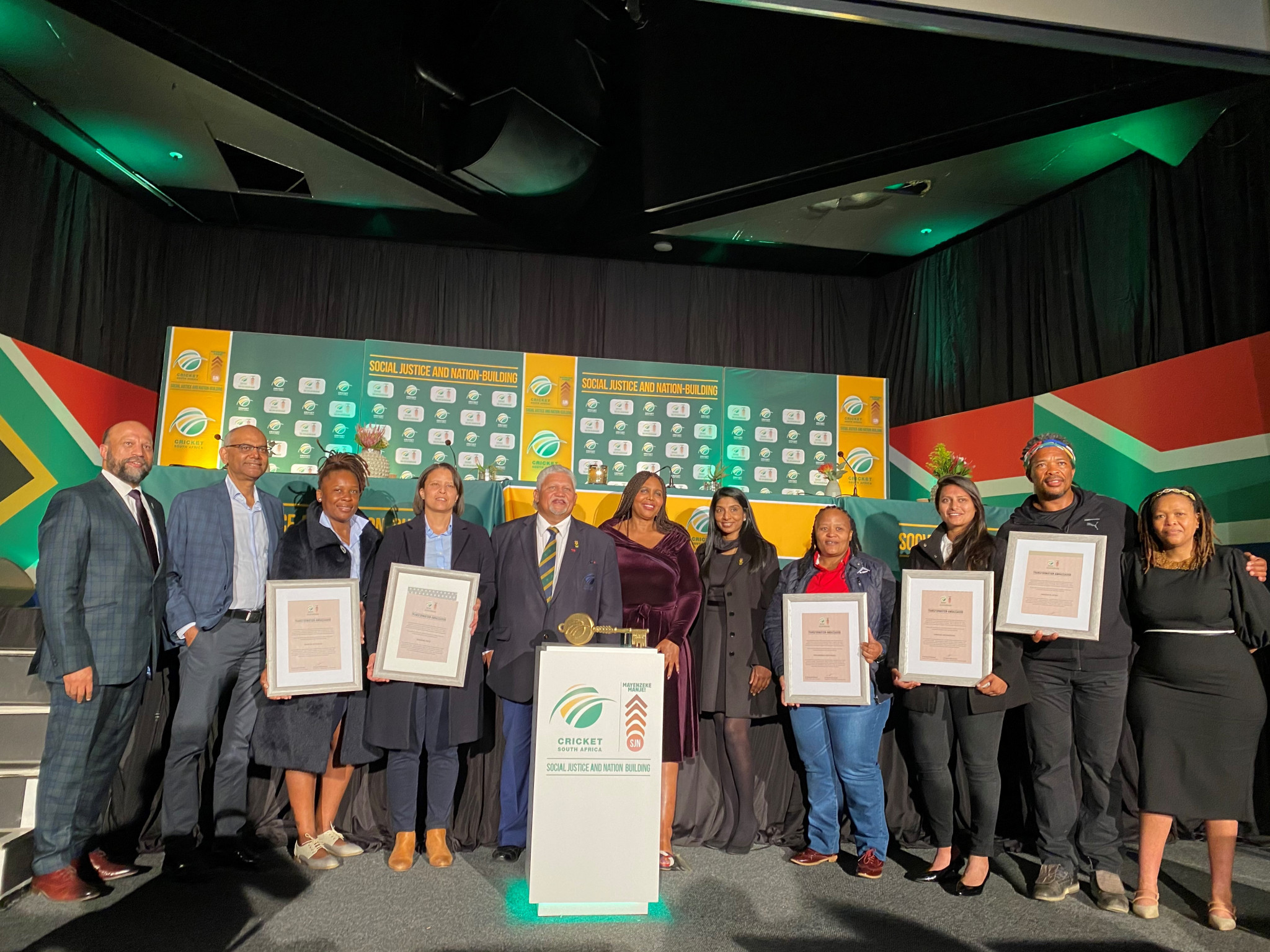 Cricket South Africa has officially launched its Cricket for Social Justice and Nation Building  project ©Twitter/OfficialCSA