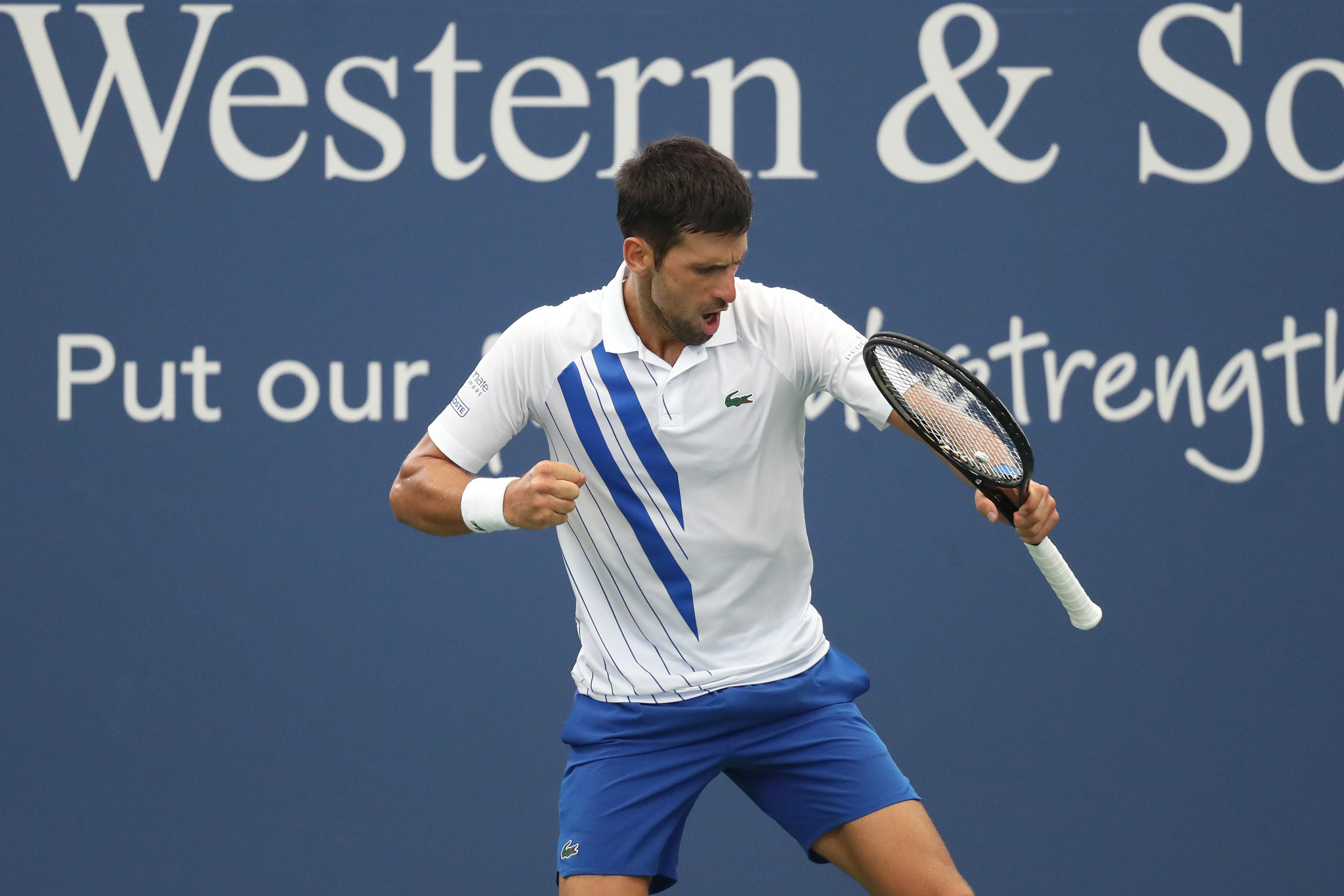 Novak Djokovic equalled Rafael Nadal's record of 35 Masters 1000 titles with victory in New York ©Getty Images