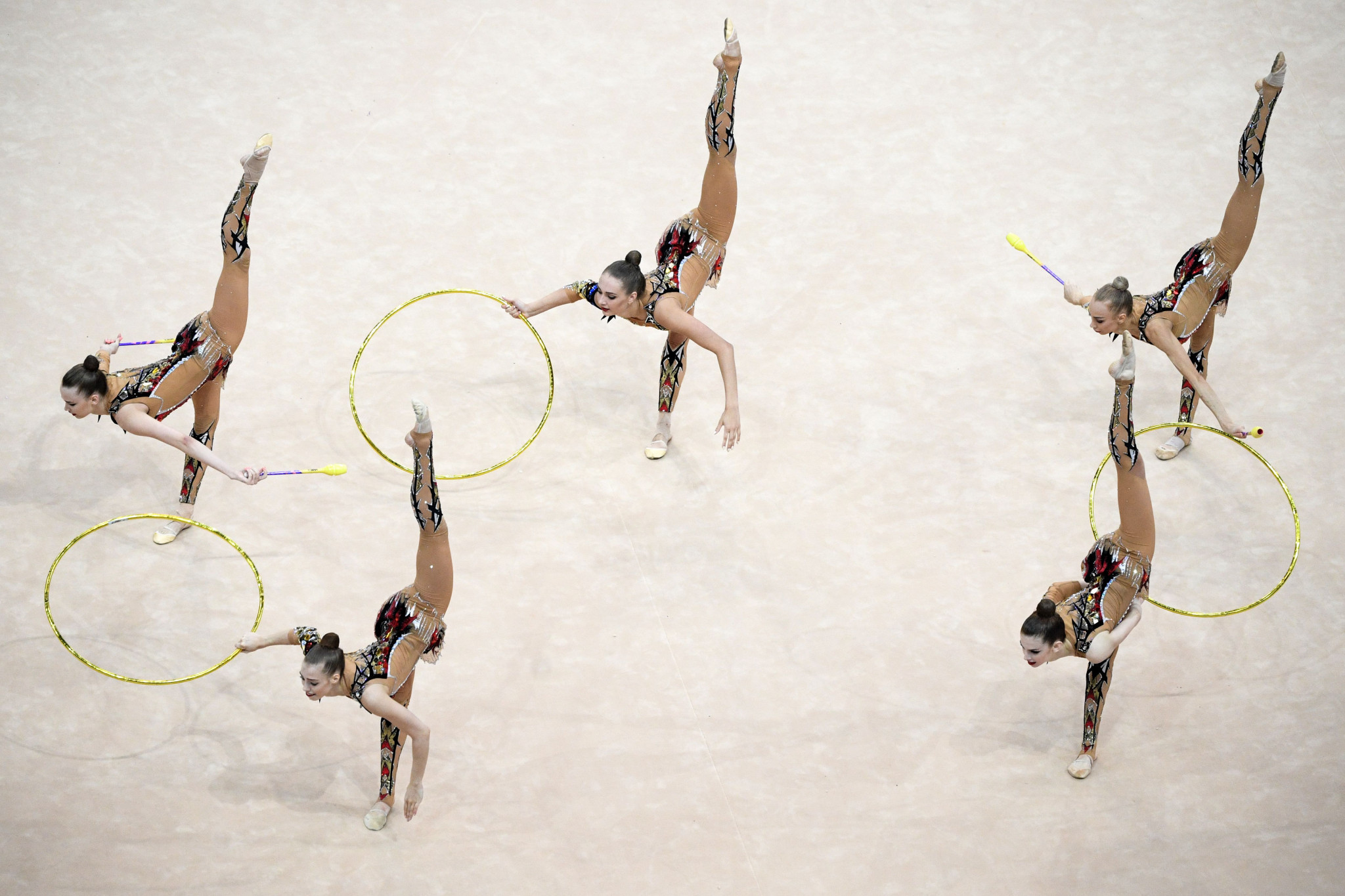 "Conditions for European Rhythmic Gymnastics Championships ""unacceptable"" for Russian athletes"