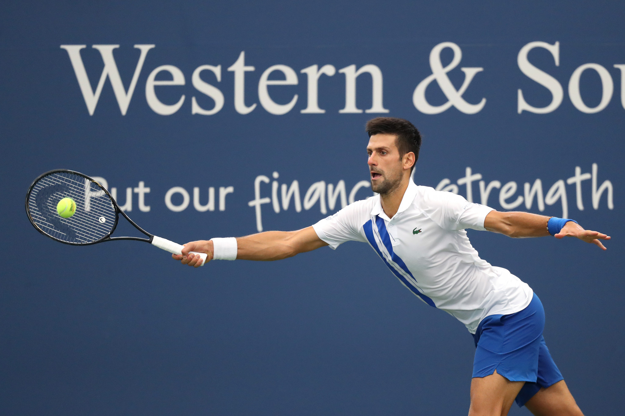 Novak Djokovic is a big favourite in the men's US Open contest ©Getty Images