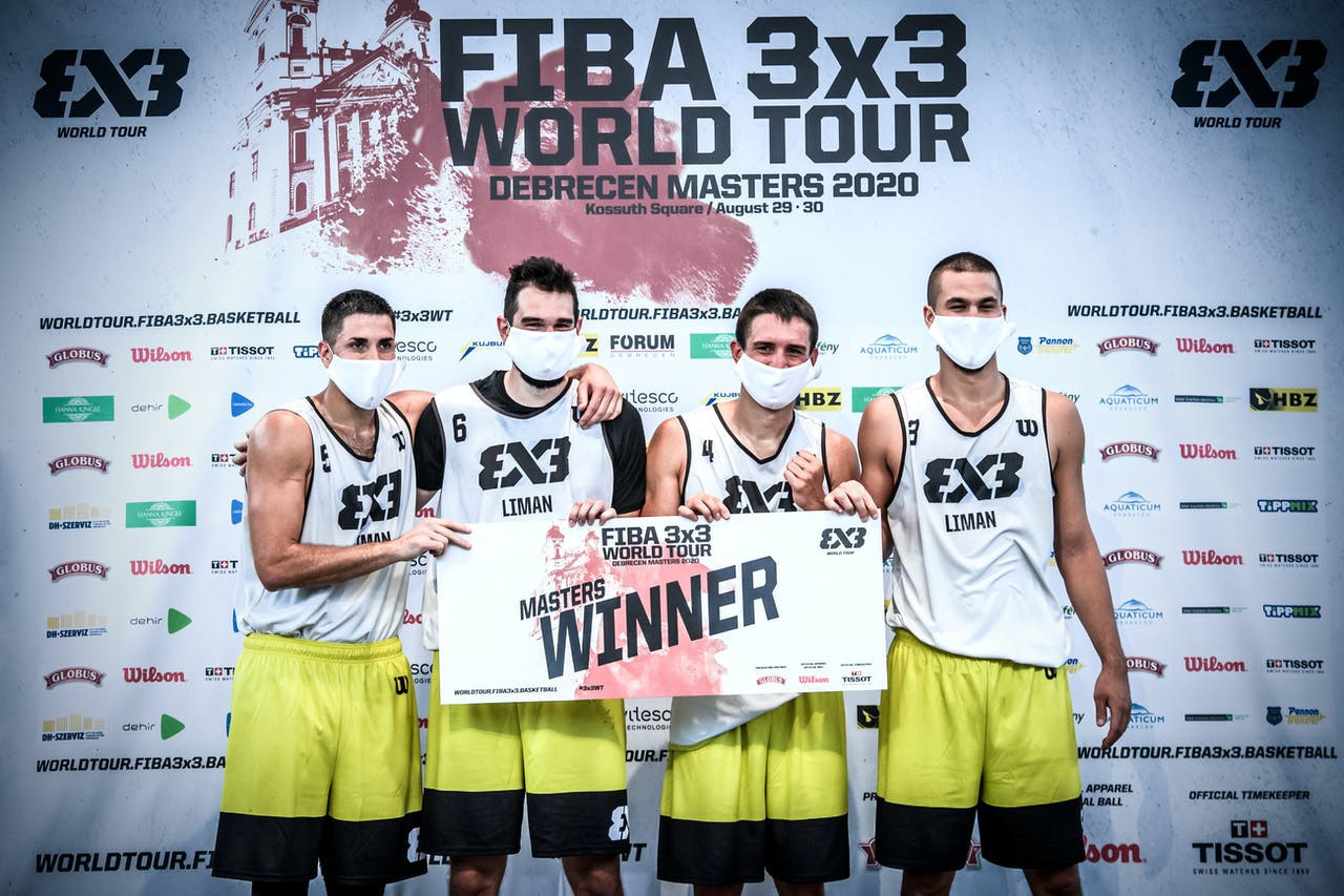 Liman win FIBA 3x3 World Tour event in Debrecen