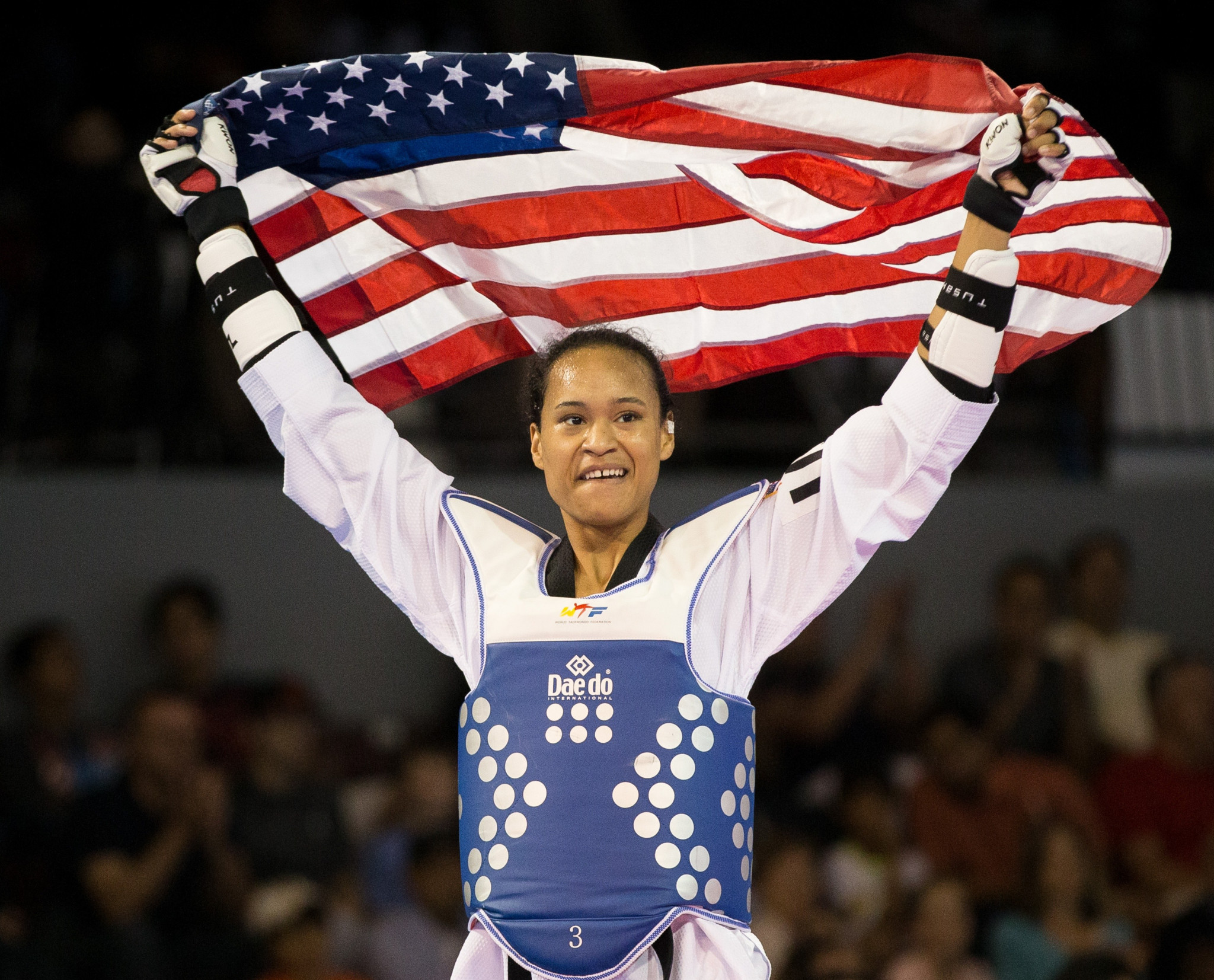 Paige McPherson is one of two American taekwondo qualifiers for Tokyo 2020 ©Getty Images