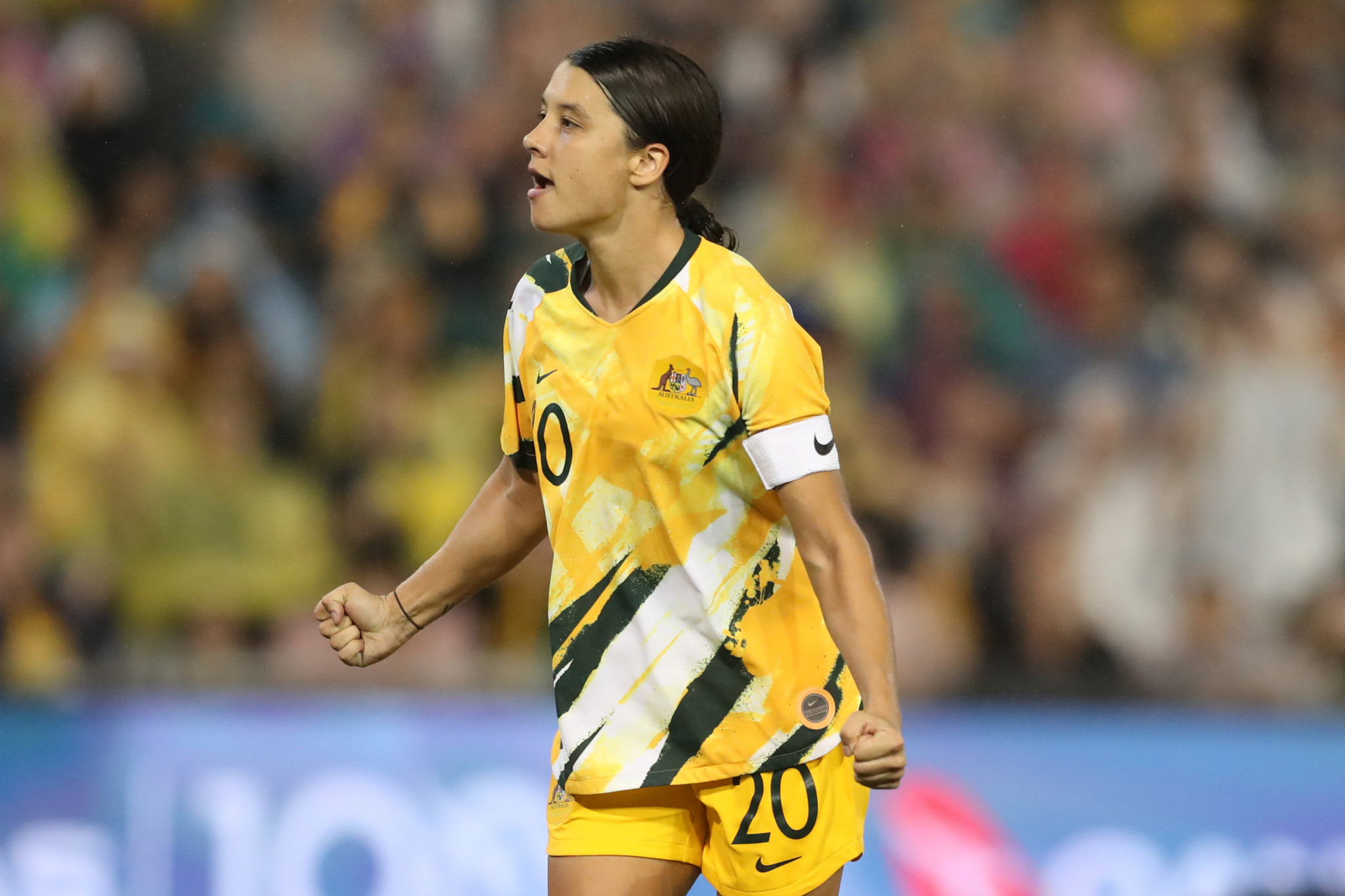 Australian captain Sam Kerr said the announcement of funding for the facility was