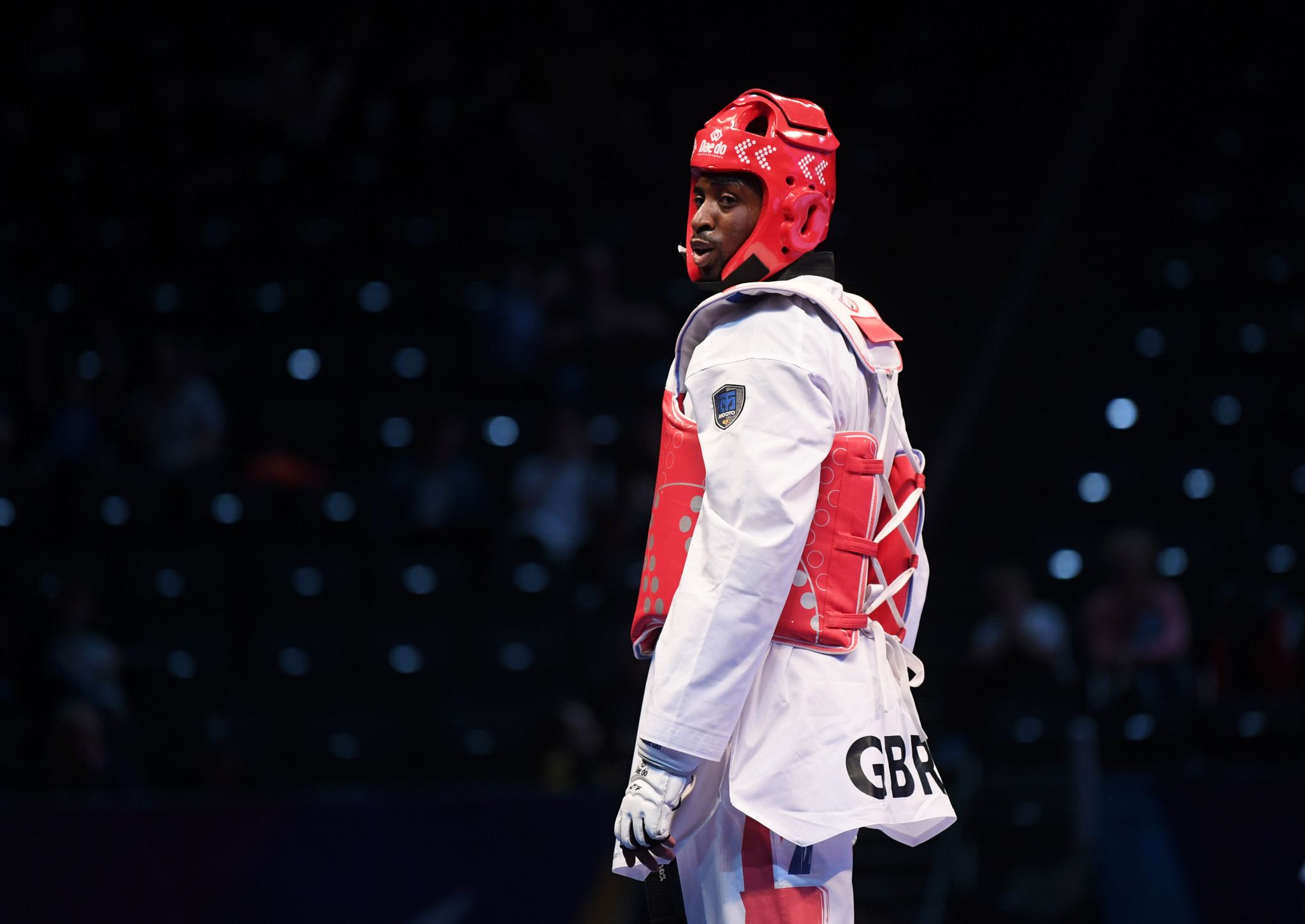 "British taekwondo star Mahama Cho revealed he is ""more hungry"" for next year's Olympic Games in Tokyo ©Getty Images"