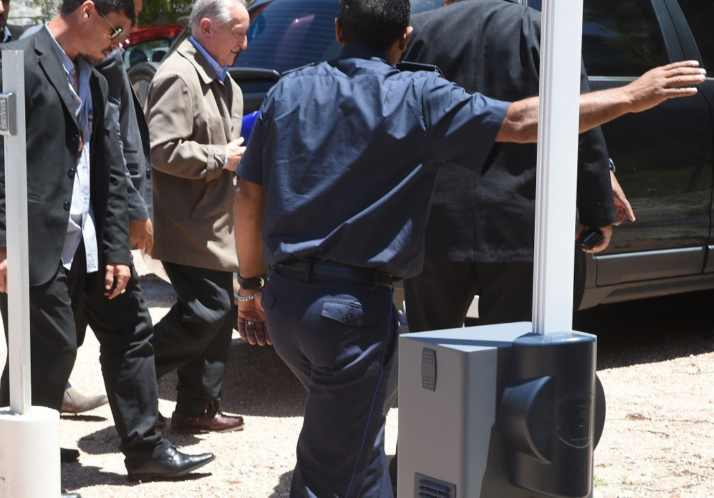 The FOJ handing evidence over to the American authorities came after former FIFA vice-president Eugenio Figueredo was accused of receiving £33,000 per month in bribes