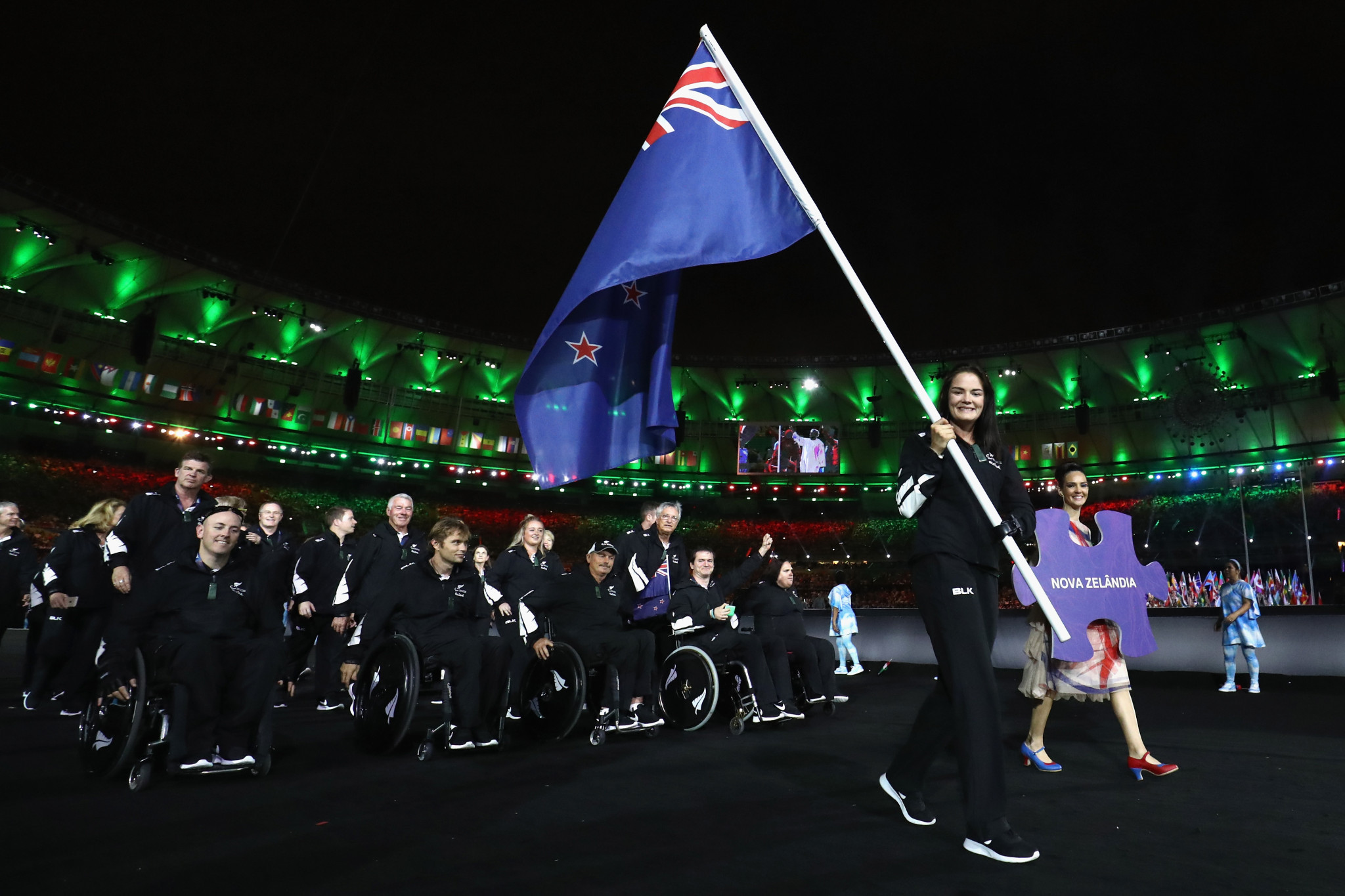 Paralympics New Zealand has announced a partnership with the Asia NZ Foundation in preparation for Tokyo 2020 ©Getty Images