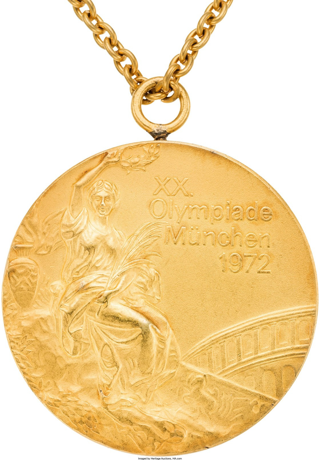 Olga Korbut sold several items of memorabilia, including her Olympic gold medals, at an earlier auction in 2017 ©Heritage Auctions