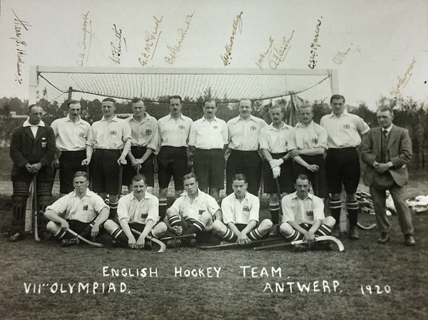 Event planned to celebrate centenary of Britain's 1920 Olympic hockey gold medal