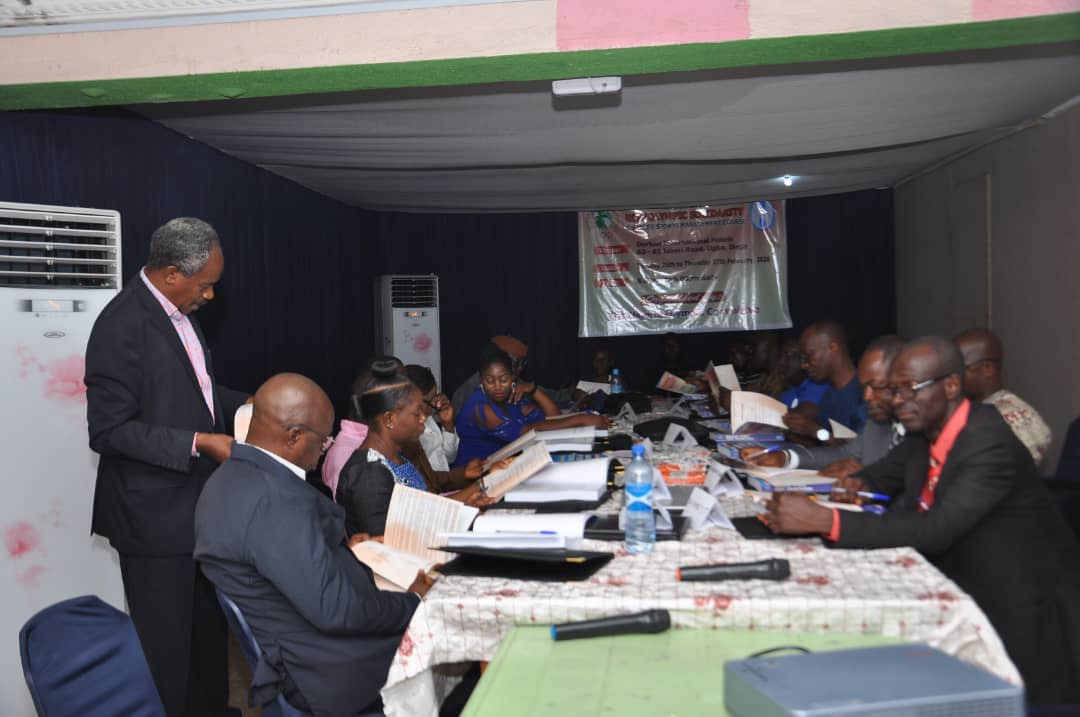 Nigeria Olympic Committee hold advanced sports management course