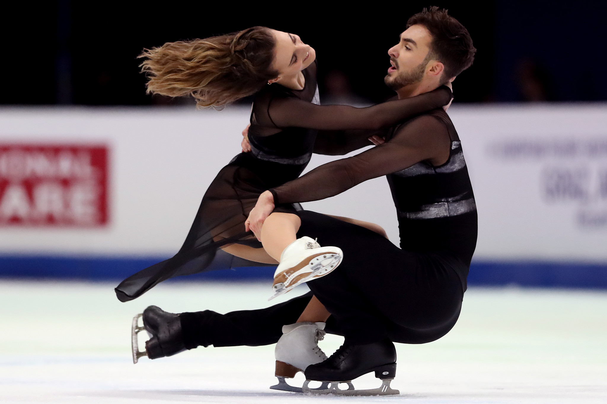 Gabriella Papadakis and Guillaume Cizeron are set to take part in the I.AM LIVE event ©Getty Images