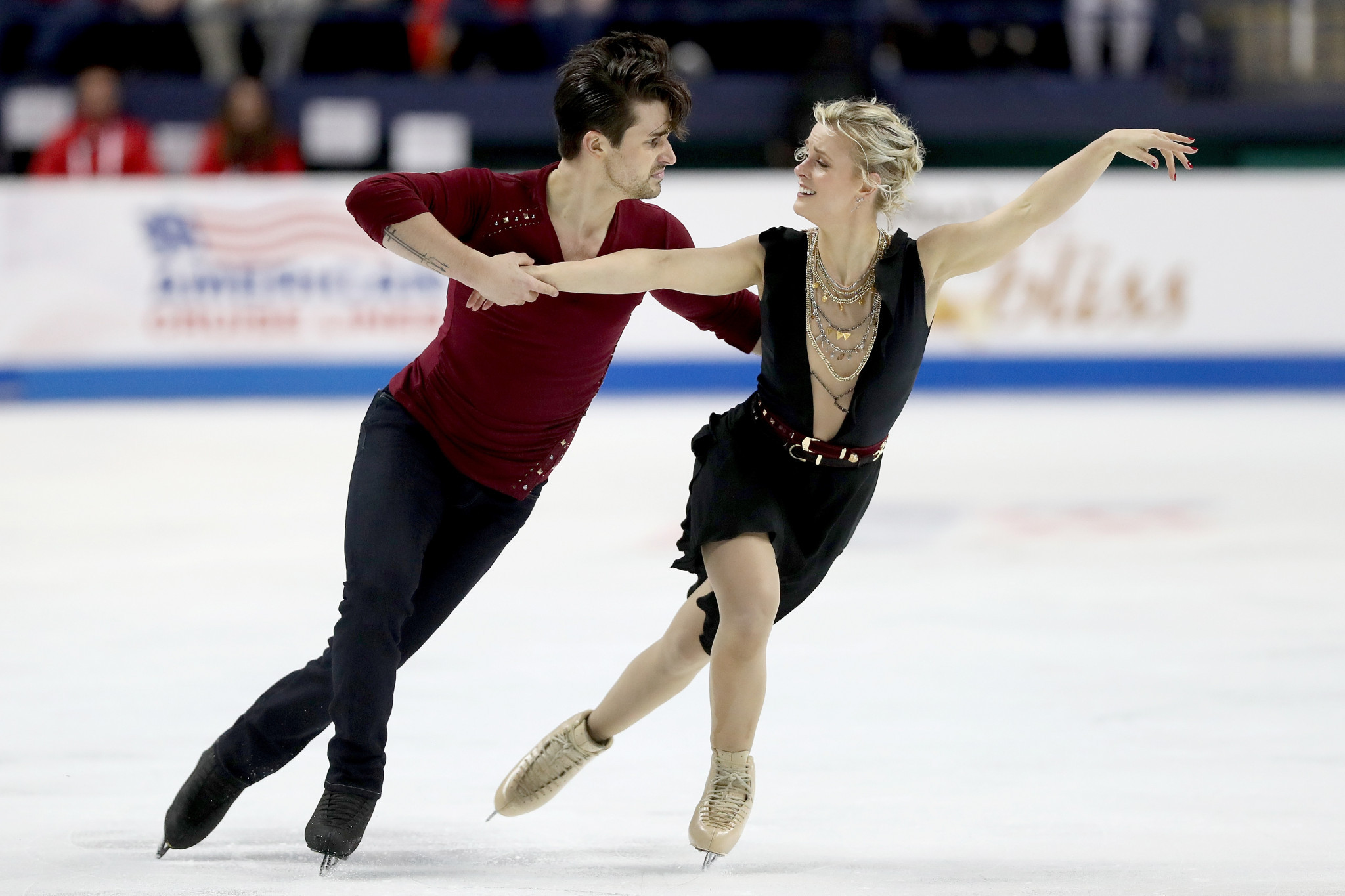 Madison Hubbell and Zachary Donohue are set to take part in the I.AM LIVE show ©Getty Images