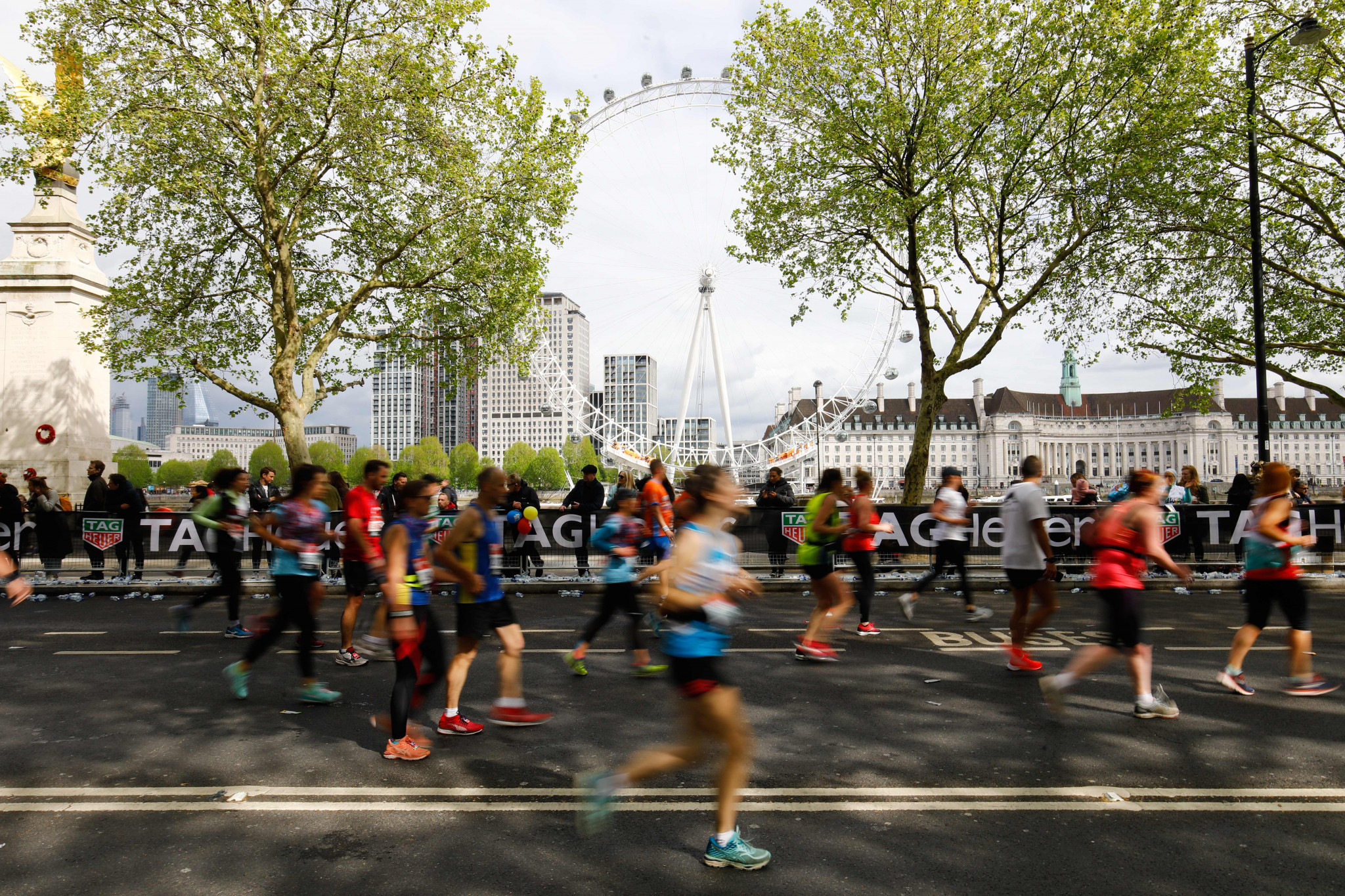 The Virgin Money London Marathon is due to take place on October 4 ©Getty Images