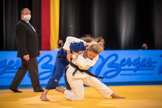 Germany emerged as narrow winners of a team competition ©Austrian Judo Federation