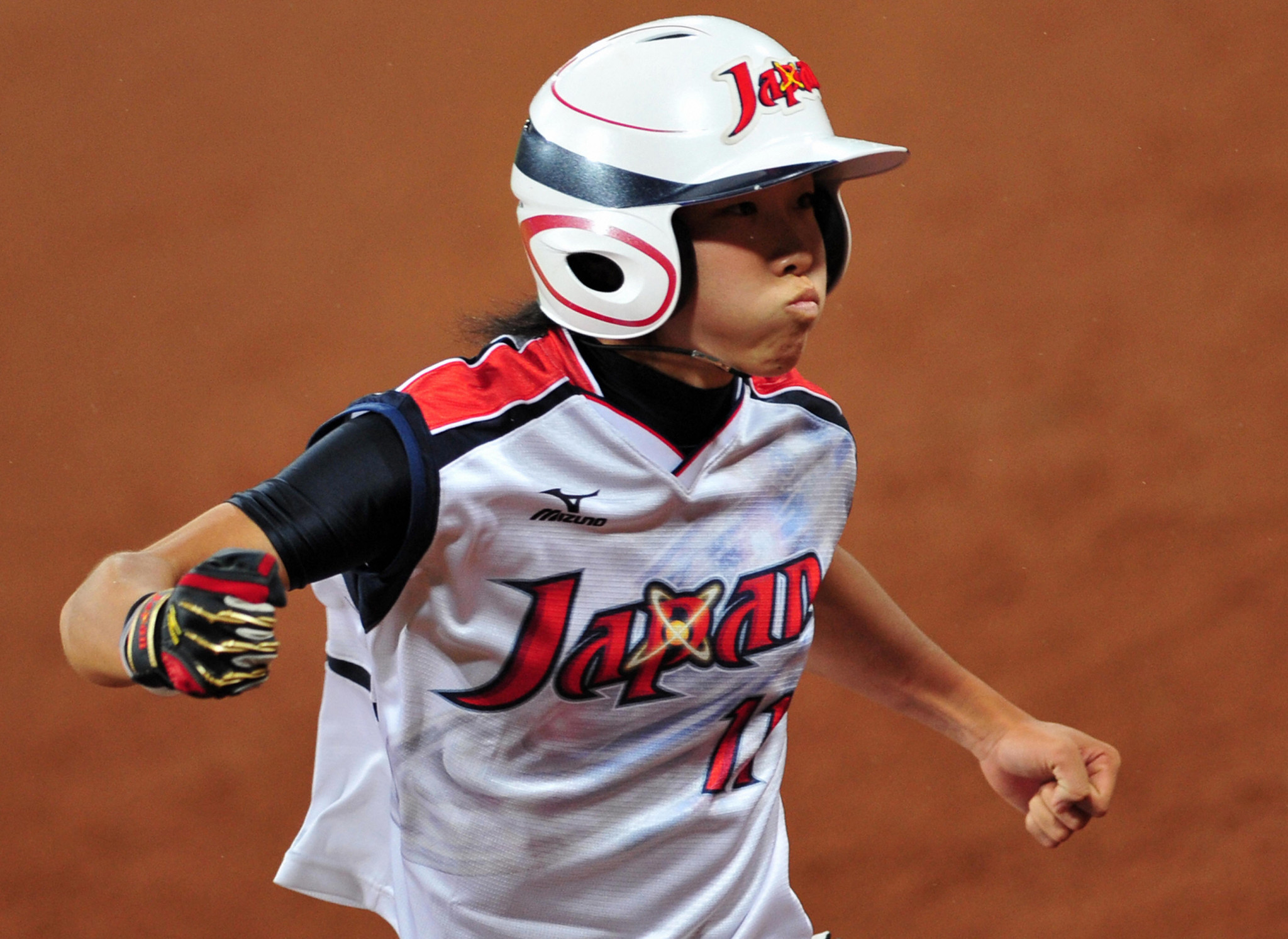 Eri Yamada earned Olympic softball gold with Japan at Beijing 2008 ©Getty Images