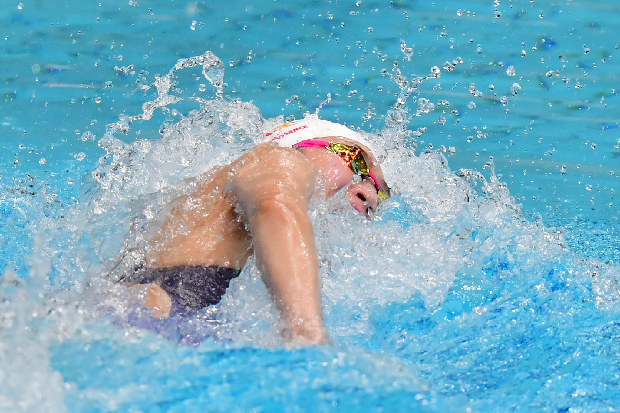 Rikako Ikee achieved a time of 26.32 seconds in the women's 50m freestyle event ©Getty Images