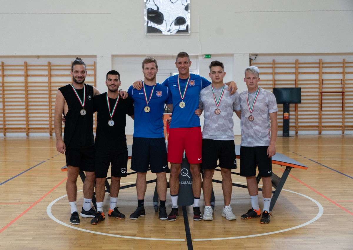 Blázsovics earns three gold medals at inaugural FITEQ National Challenger Series