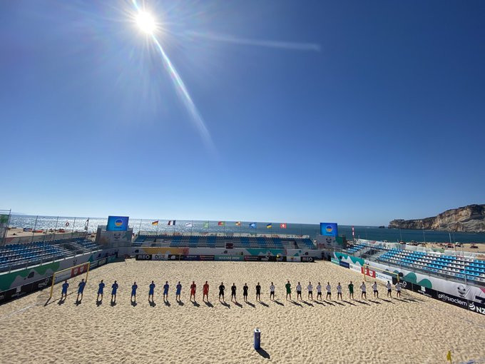 Hosts Portugal run riot in opening match at Euro Beach Soccer League Superfinal